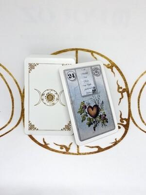 Testdrucke Ausverkauf / Dondorf  Lenormandkarten Reprints 1910 / 3 verschiedene Vorderseiten