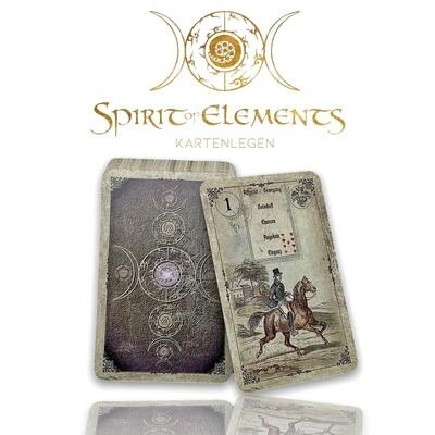 Dondorf Lenormandkarten / Old Vintage Spirit Mit Deutungsstichworten 1880
