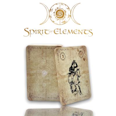 Spirit of Elements Lenormandkarten / Spirit Vintage Epic mit Skatkarten