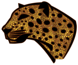 Leopard Strass