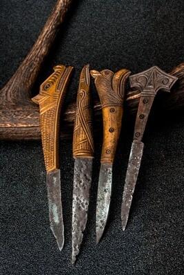 Viking Motives Knife, antler, 1 pcs
