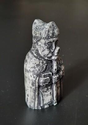 Lewis Chessmen, the Bishop, Hand Carved, Antlers