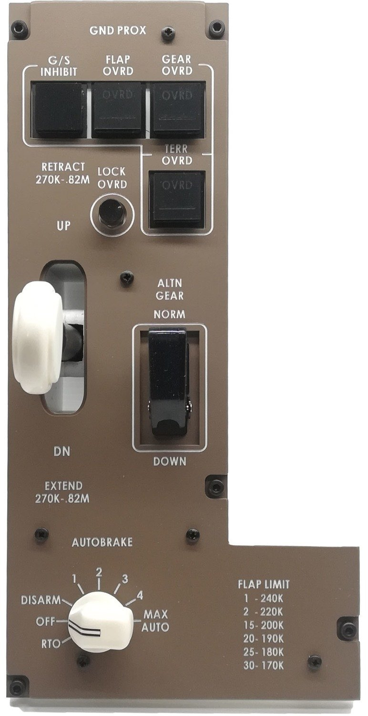 Boeing 777 landing gear module