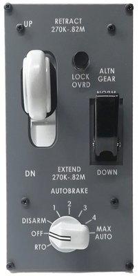 Boeing 787 Landing gear panel