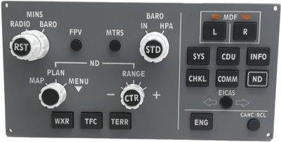 Boeing 787 EFIS/Display Select Panel