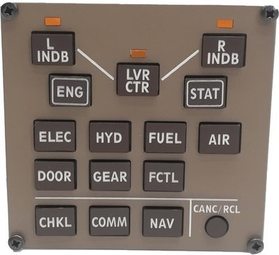 Boeing 777 Display Select Panel