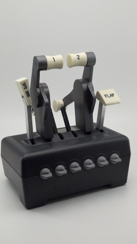 B767 CH Throttle handles
