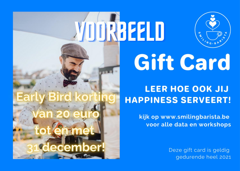 Gift Card Workshop