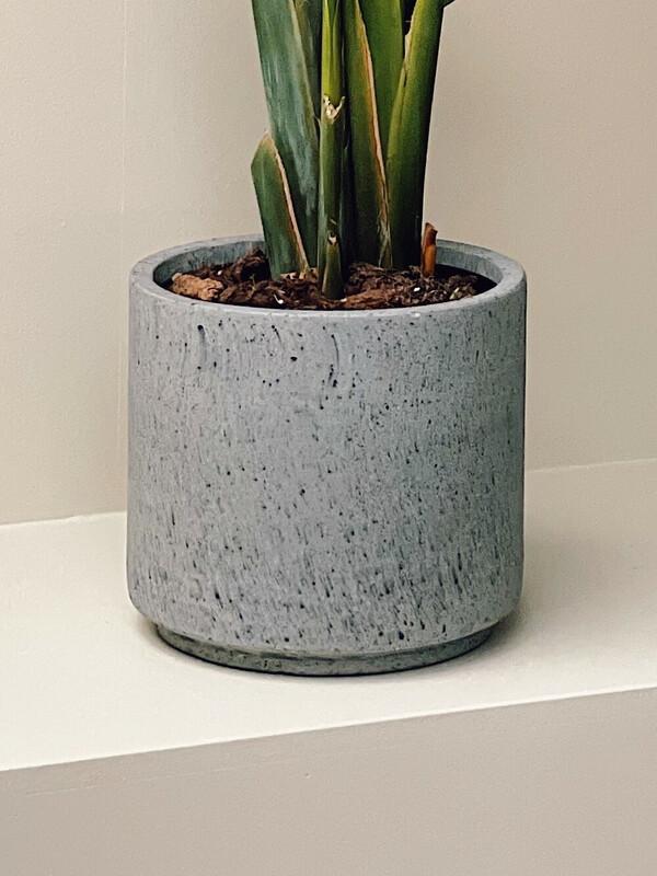 Speckled Grey Bloempot