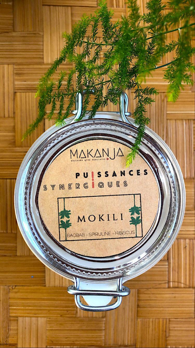 MOKILI - Cure 3 mois - Spiruline, hibiscus, boabab