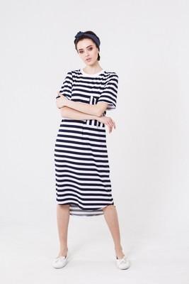 Платье STRIPED DRESS WB
