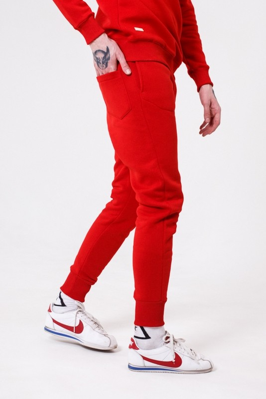 Штаны SPORTY RED PANTS
