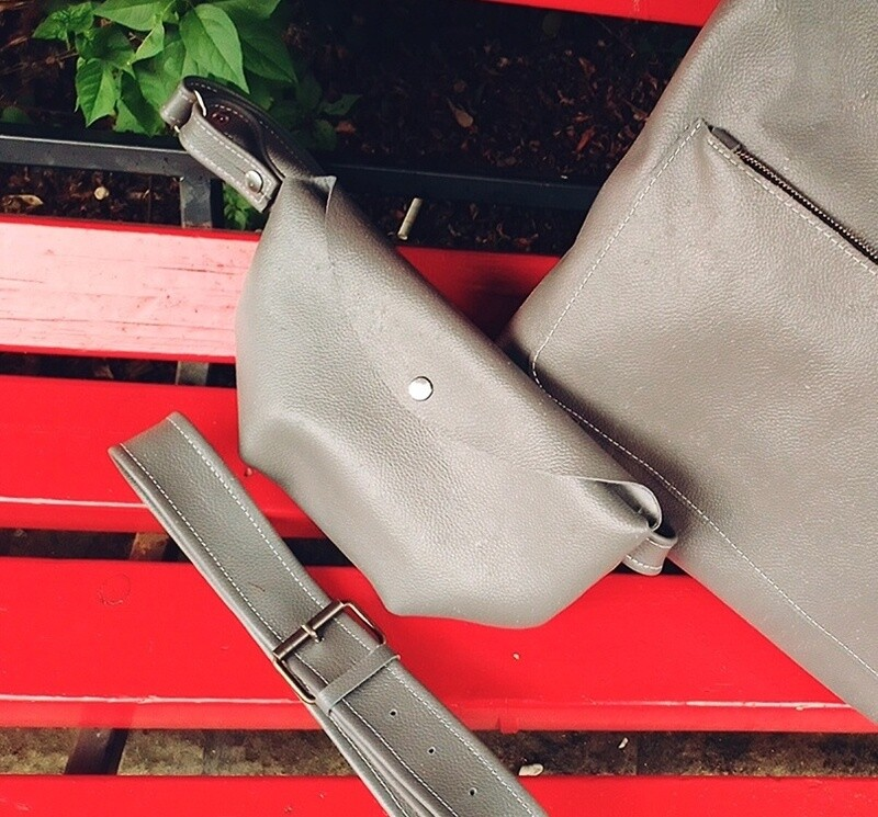 Поясная сумка Waist Bag GREY