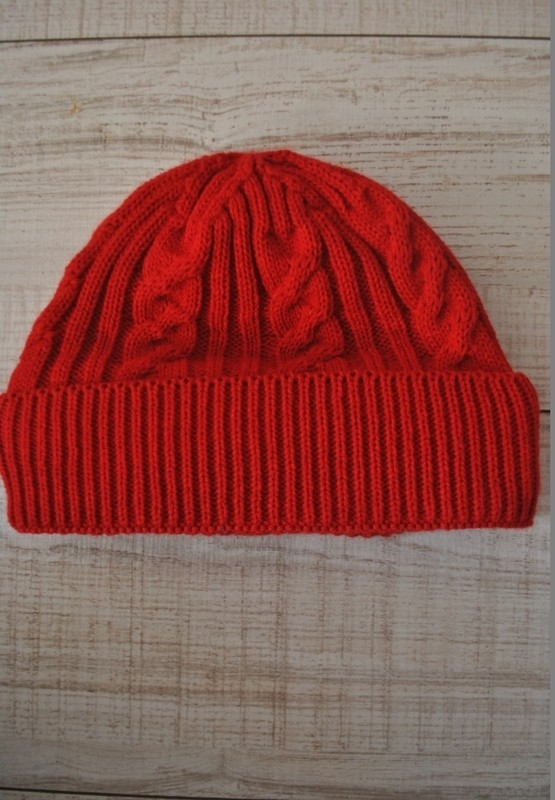 Шапка Knit Red
