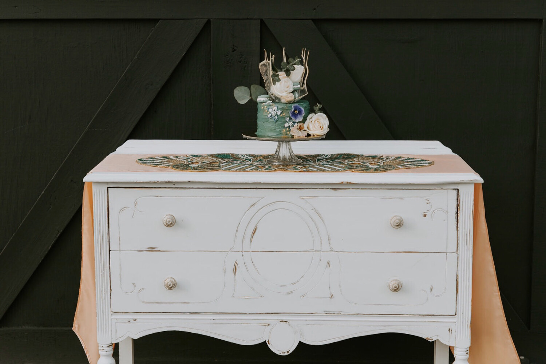 Antique Buffet Table- Phoebe