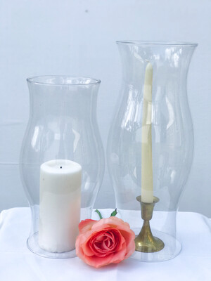 Hurricane Glass Vase 14