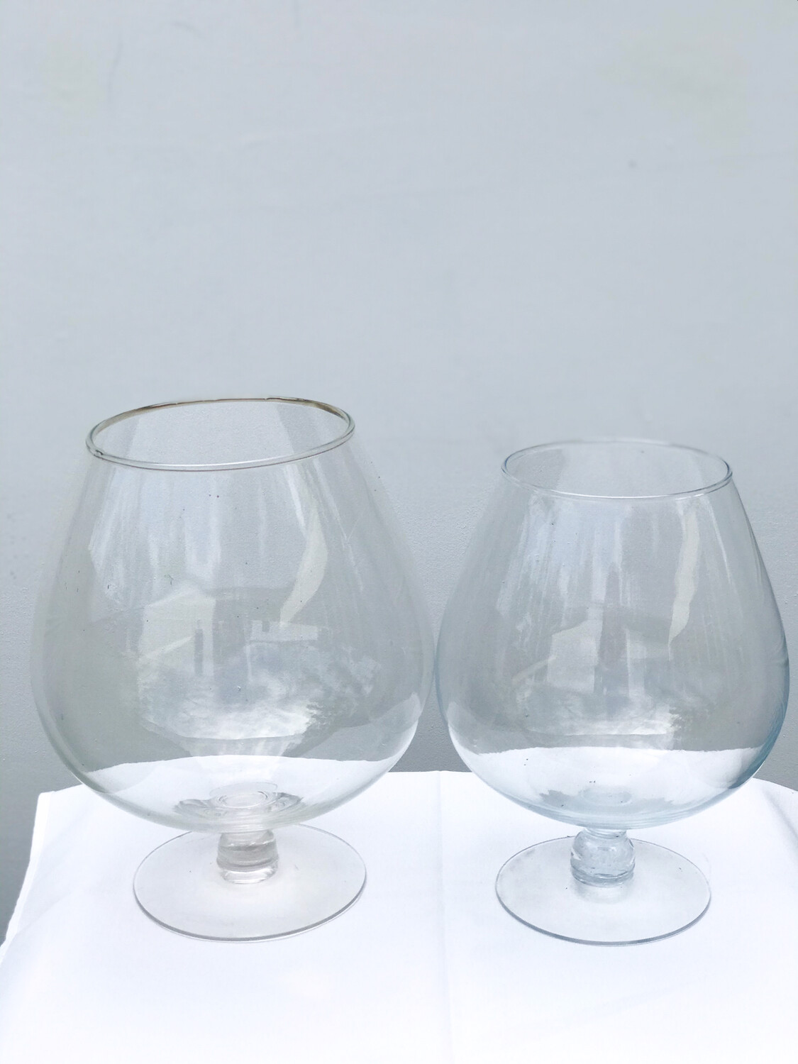 Brandy Snifter Glass Vase