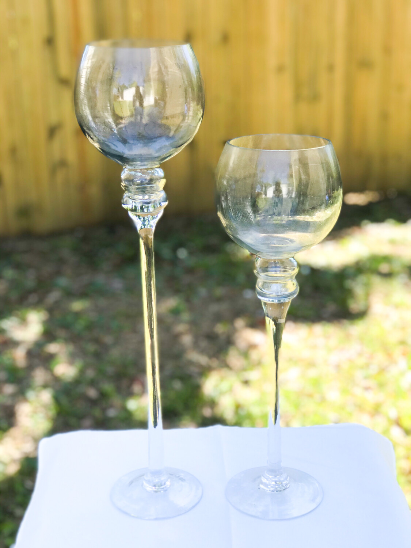 Wine (Long Stem) Glass Vase