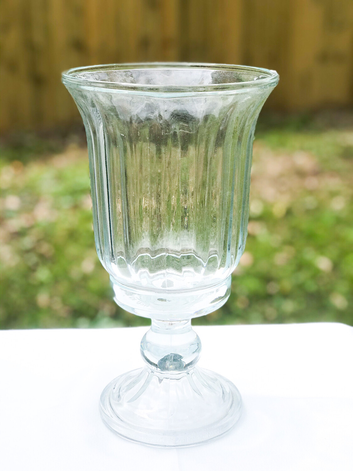 "Glass Vase 11"" Tall"