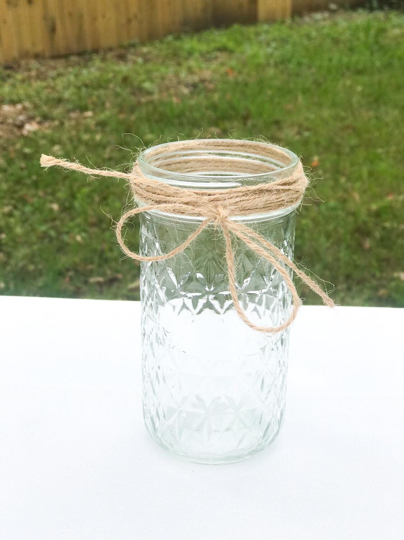 """5"""" Jar with Twine"""