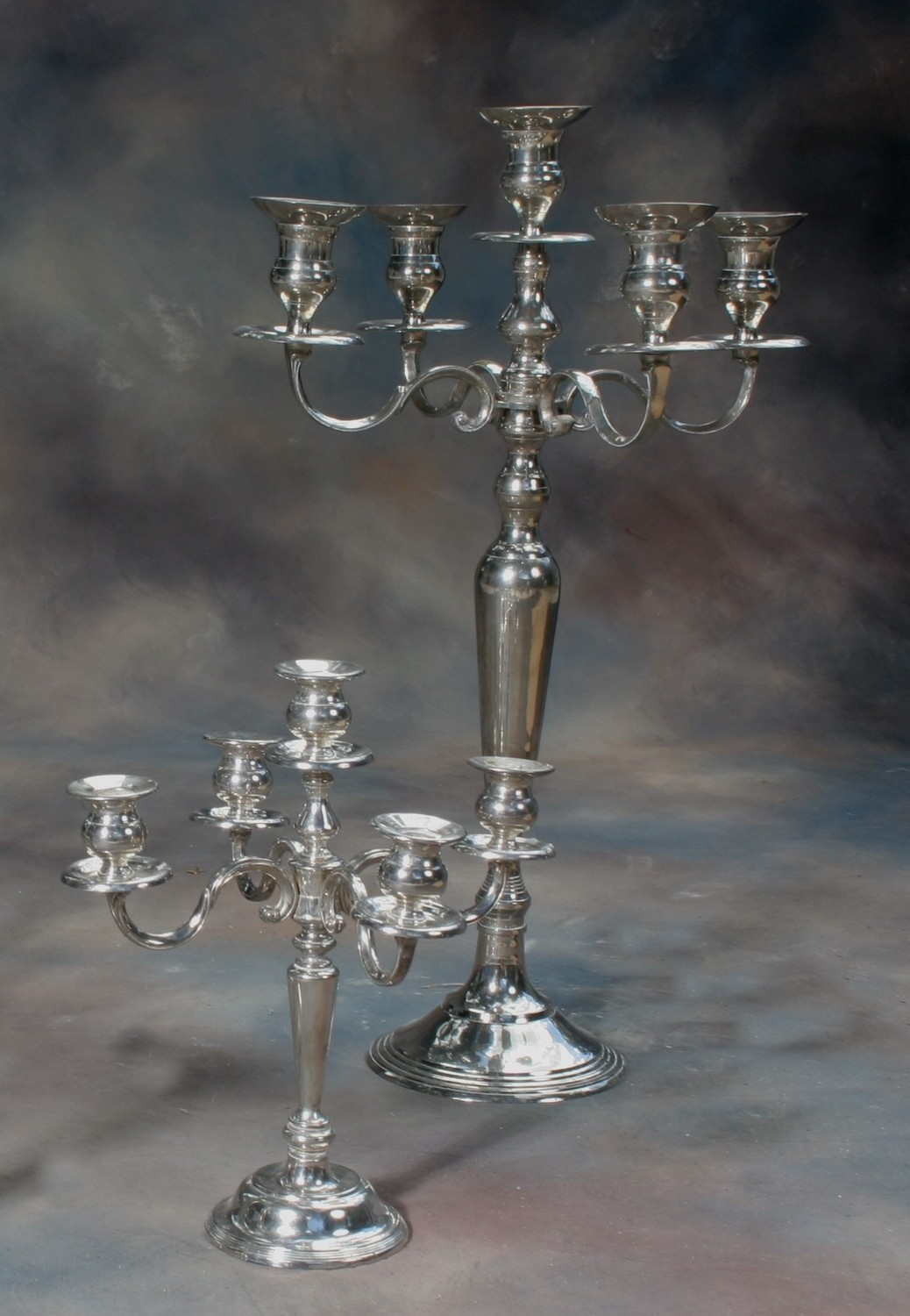 5L Tall Silver Tableabra