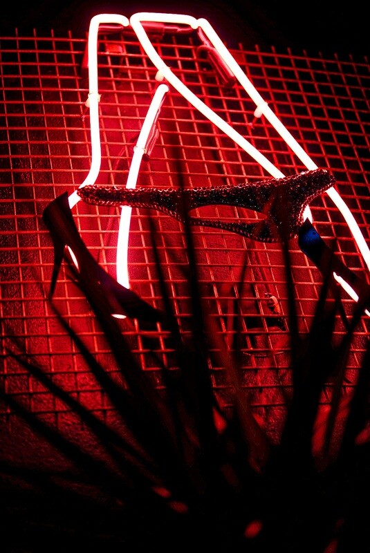Sexy Walk Neon Artwork | Neon Light Sign