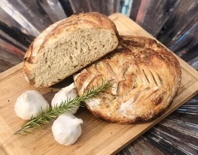 Rosemary Garlic Sourdough Boule (WEDNESDAY & SUNDAY ONLY)