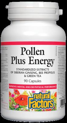 Pollen Plus Energy 90 Caps