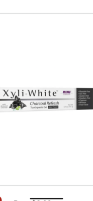 Xyliwhite Charcoal-Mint Toothpaste 181G