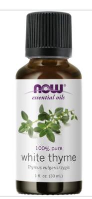 White Thyme Oil  100% Pure