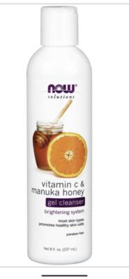 Vit C & Manuka Honey Gel Cleanser 237Ml