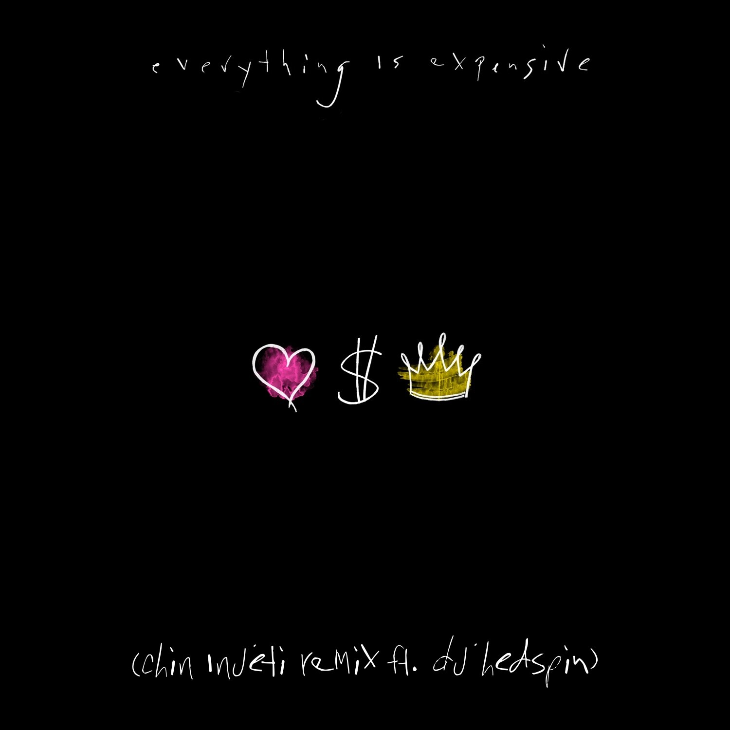 Everything Is Expensive (Chin Injeti Remix ft DJ Hedspin) - Digital Download