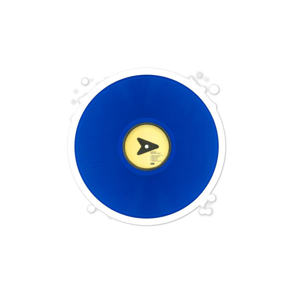 BFA Blue Vinyl Side 1 Bubble-free sticker