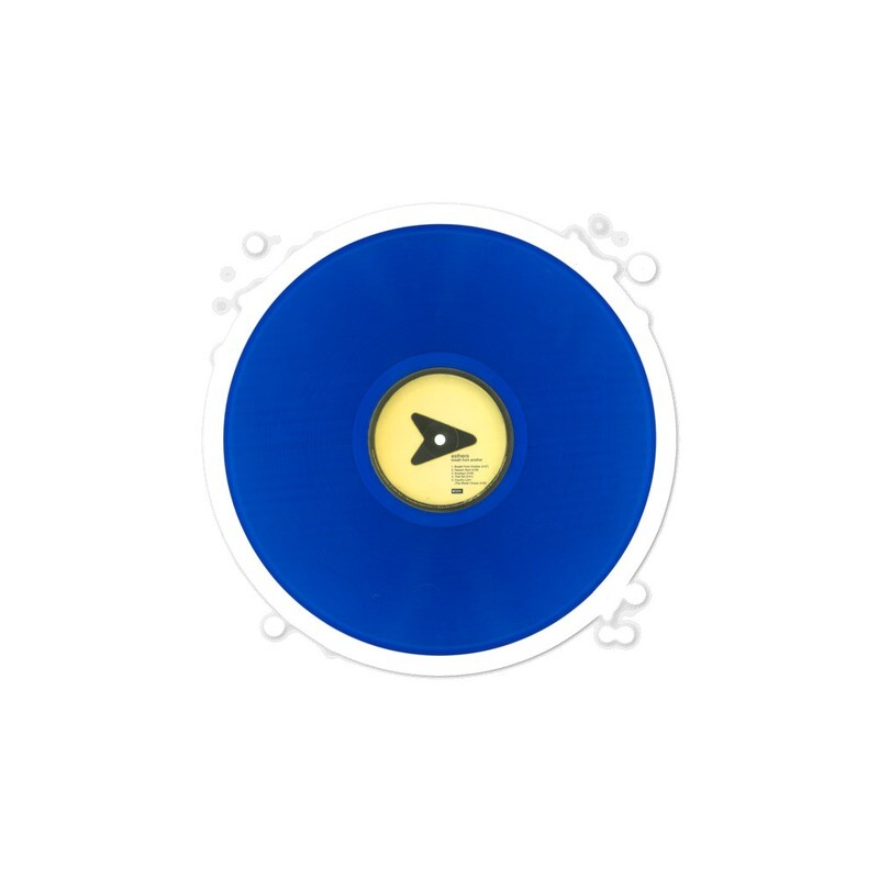 BFA Blue Vinyl Side 1 Bubble-free sticker