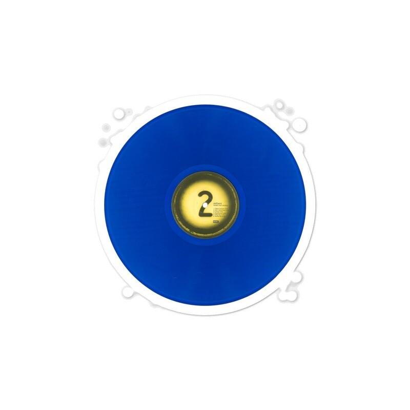 BFA Blue Vinyl Side 2 Bubble-free sticker