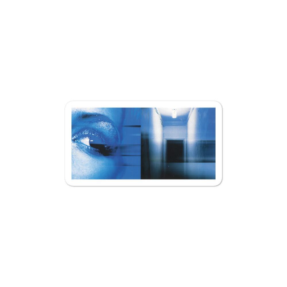 BFA Blue Eye Bubble-free sticker