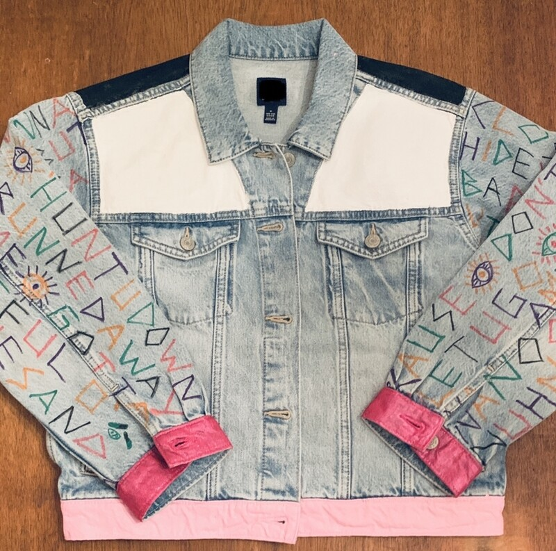 """Never Gonna Let You Go"" Custom Jacket Made by Esthero"