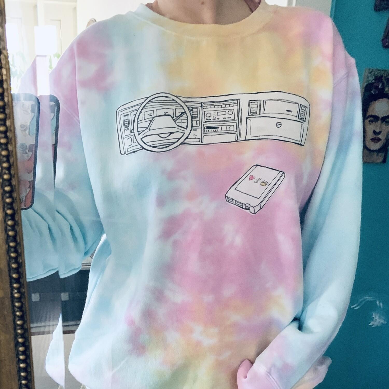 Custom Muscle Car Dashboard Sweatshirt
