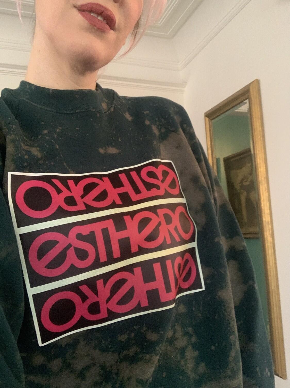Custom Esthero Vintage Sweatshirt