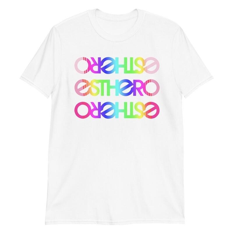 Esthero Unisex Trio Rainbow T Shirt