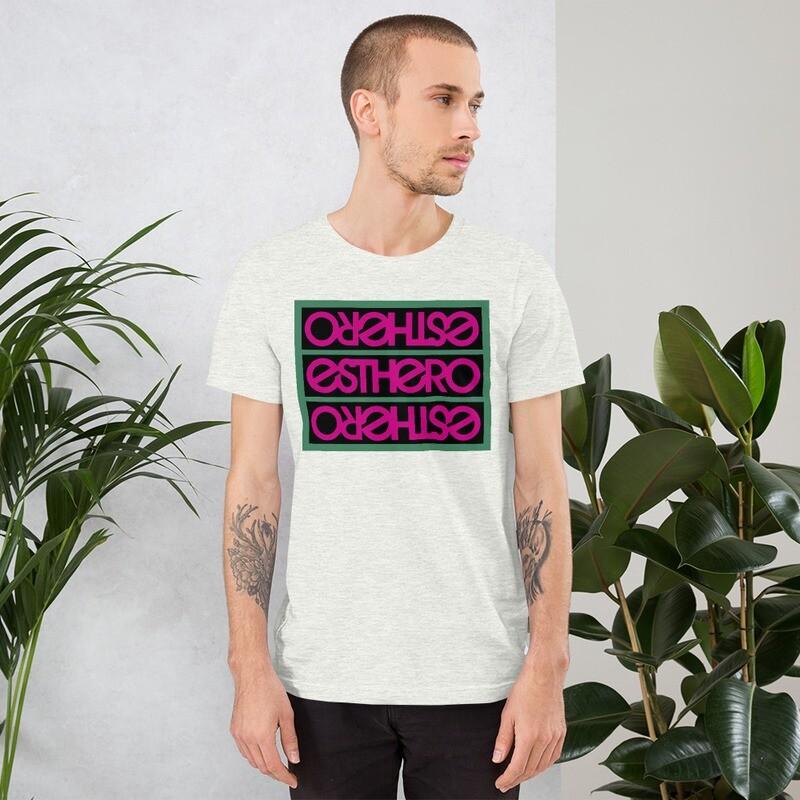 Esthero pink/black/green Unisex T-Shirt