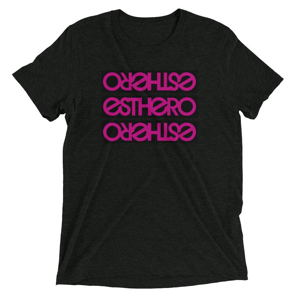 Tri-Blend Esthero Black Blocks Trio t-shirt