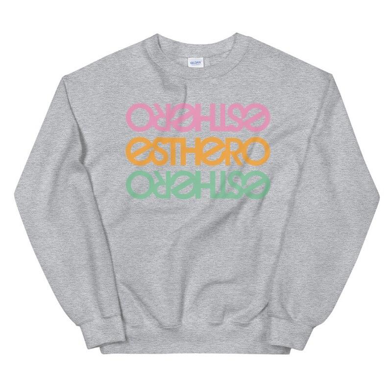Esthero Creamsicle Trio Unisex Sweatshirt