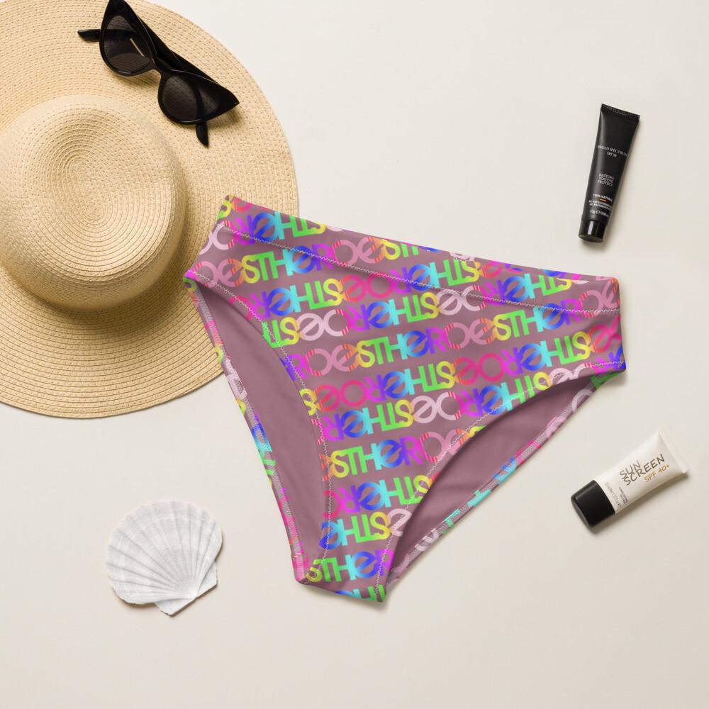 Shawna High-Waisted Bikini Bottom
