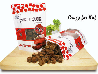 Dehydrated Cubic Beef/ Beef&Cheese (70g)