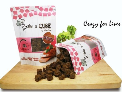 Dehydrated Cubic Pork Liver (70g)