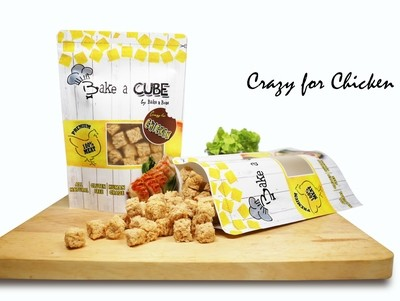 Dehydrated Cubic Chicken/ Chick&Cheese (70g)