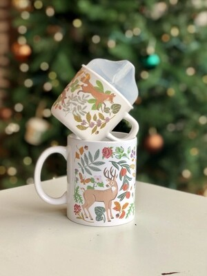 Mama & Me Mug & Sippy Cup Set - Woodland