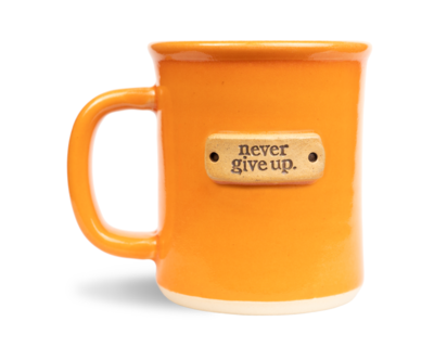 MudLove Mug - Clementine Never Give Up