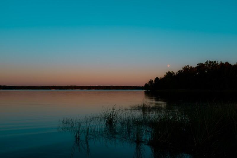 Moonrise on the Lake